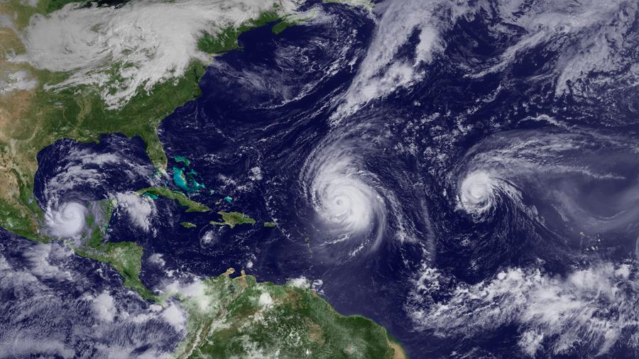 Científicos mexicanos estiman incremento de ciclones en el Atlántico; siete serían huracanes