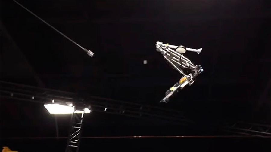 Disney enseña a su robot a hacer malabares en el aire