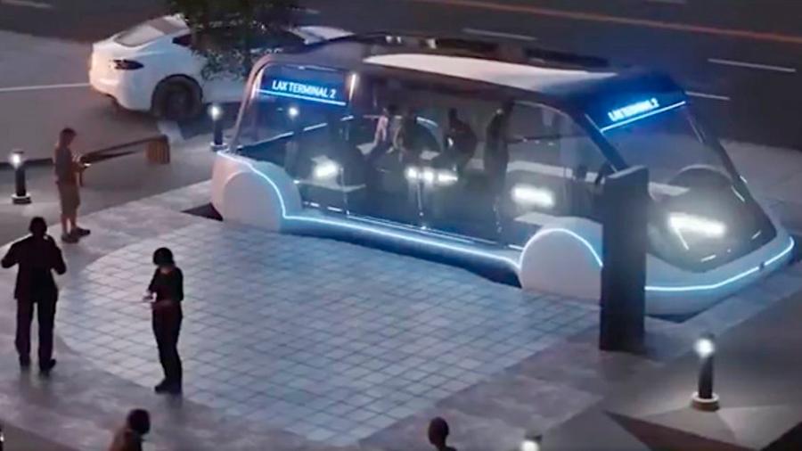 Así es 'Loop', el transporte del futuro con el que viajaremos a 240 kms/ hora bajo tierra
