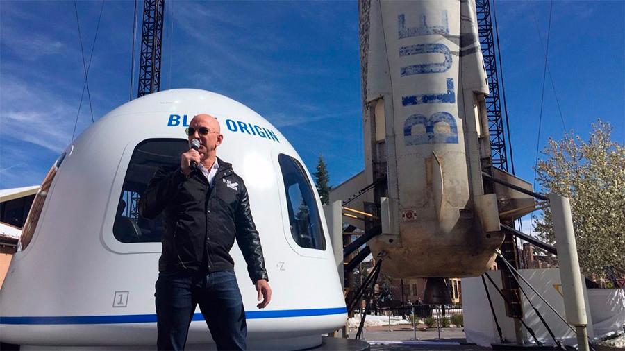 Bezos apuesta por salvar la Tierra trasladando industria a la Luna