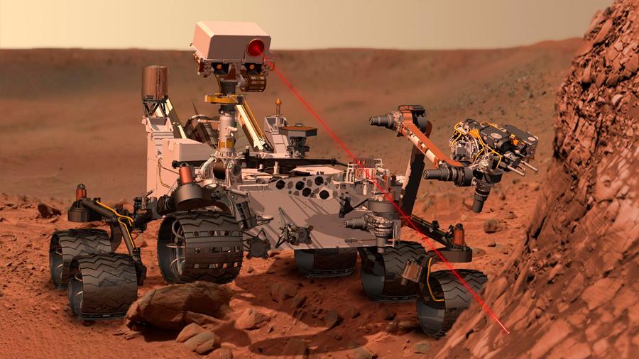 Las rocas contienen las pruebas de vida antigua en Marte