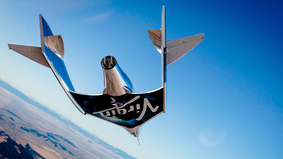 Virgin Galactic eleva a 35 kilómetros su nave de turismo espacial [VIDEO]