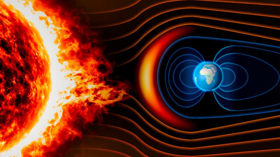 Logran determinar cómo la Tierra reduce el viento solar a una suave brisa