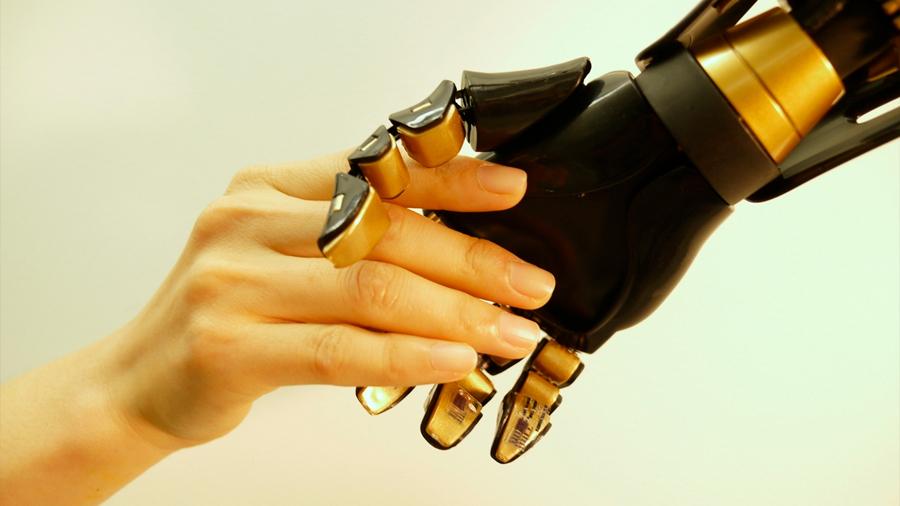Un sistema nervioso artificial para dotar de tacto a los robot