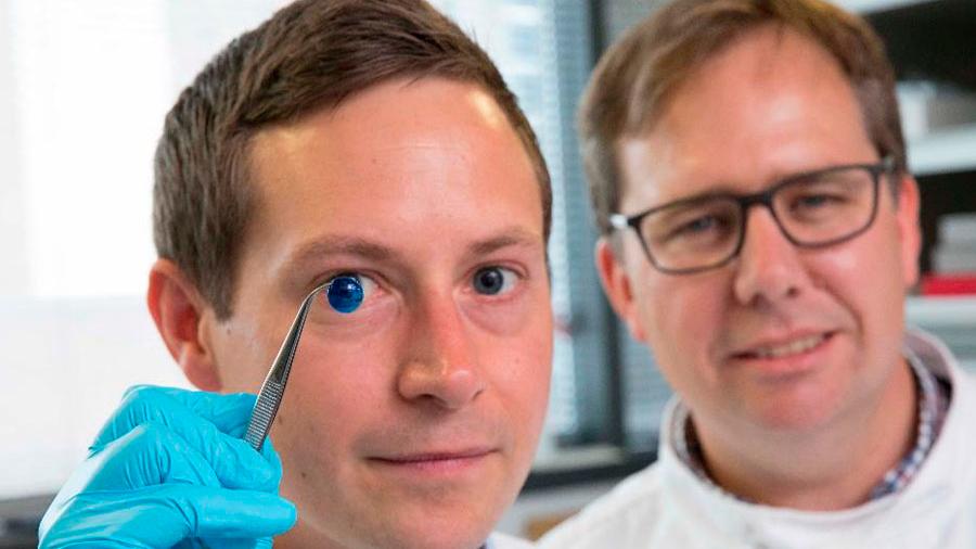 Crean córneas artificiales impresas en 3D