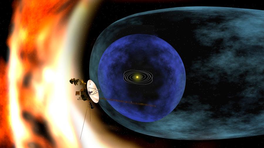 La nave Voyager 1 está llegando al borde del espacio interestelar