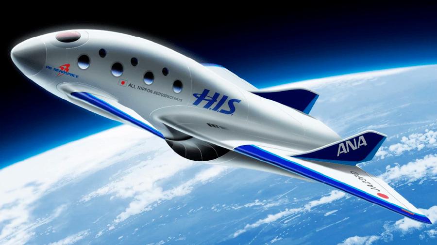 Desarrollan en Japón una nave espacial para lanzar vuelos comerciales