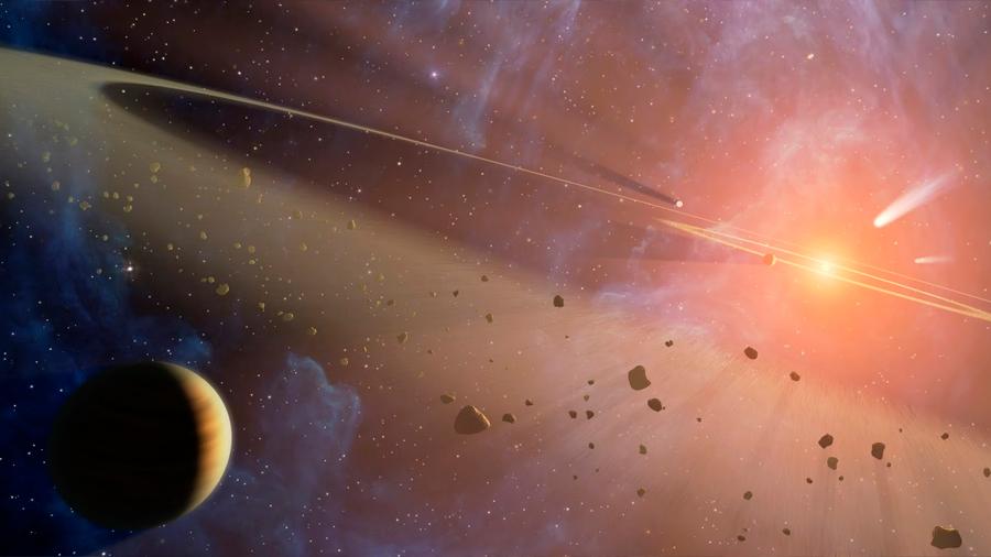 Descubierto asteroide que circula en dirección opuesta al Sol