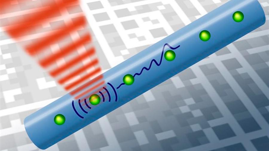 Idean la transferencia de informácion cuántica mediante sonido