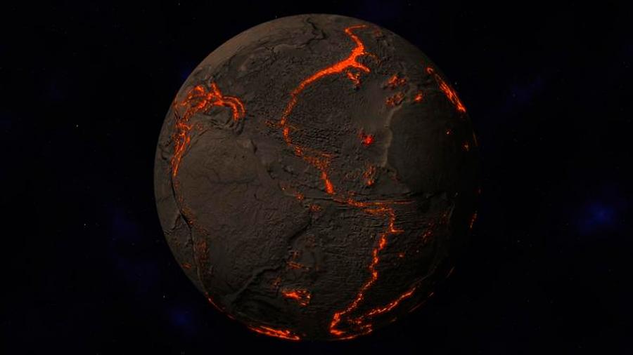Las placas tectónicas prepararon condiciones para la vida en la Tierra