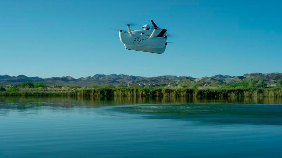 El coche volador del fundador de Google por fin se estrena en vuelo: así revolucionará los cielos