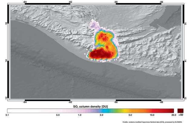 Mapeo de Ozono