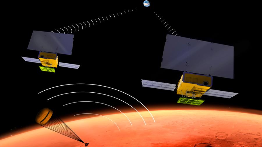 La travesía hacia Marte de dos CubeSats