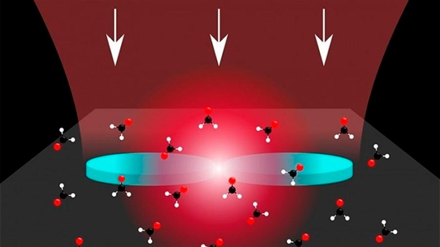 Con luz ultraconfinada logran detectar moléculas dañinas