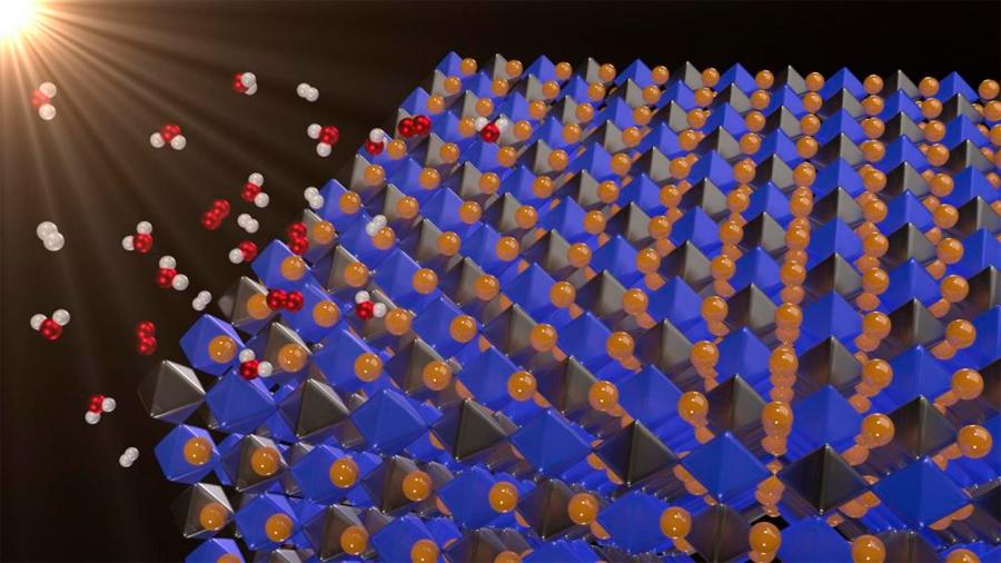 Nuevo material con las propiedades para obtener combustibles del agua