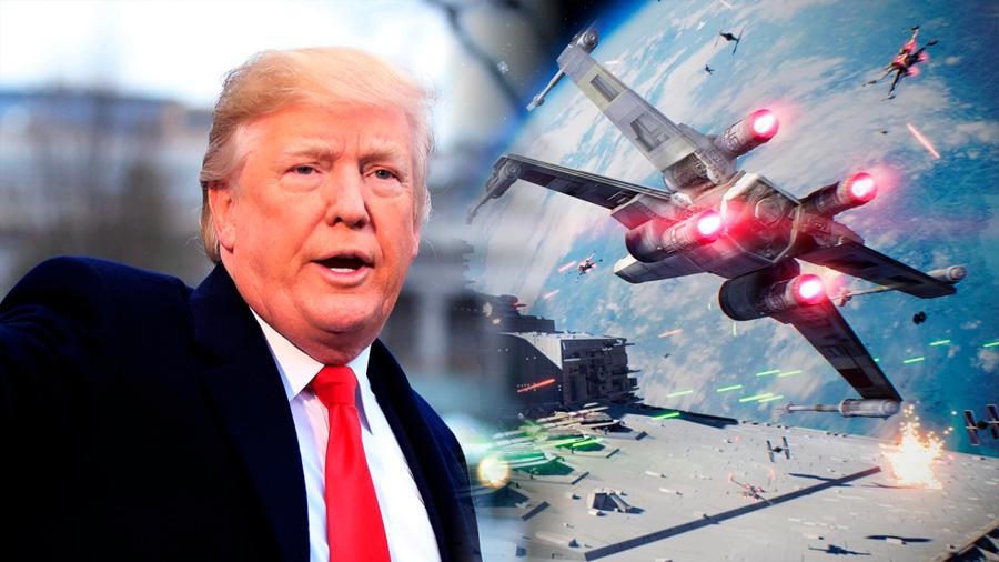 Ordena Trump crear fuerza armada espacial