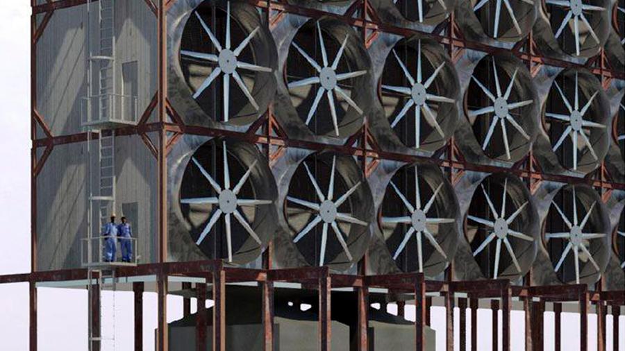 Diseñan sistema competitivo para capturar dióxido de carbono del aire y reciclarlo