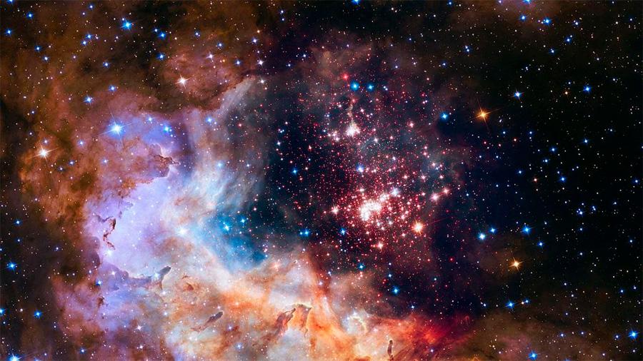Encuentran la fracción perdida de la materia del Universo