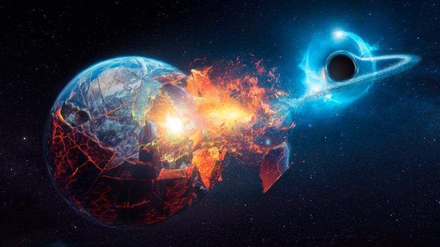 ¿Qué pasaría si un agujero negro se traga la Tierra? Responden experto astrónomo
