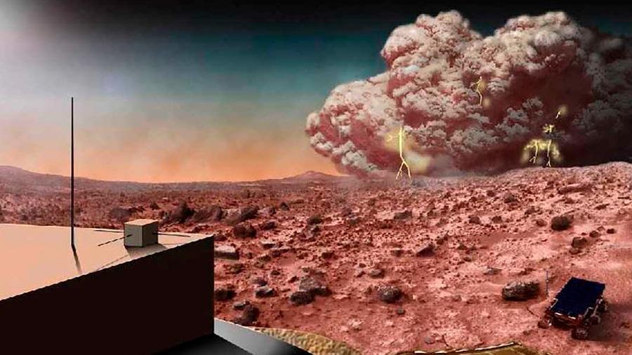 La peor tormenta en Marte ya abarca todo el planeta