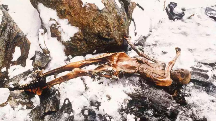 Ötzi, el hombre de hielo, era diestro y vivió hace 5,300 años