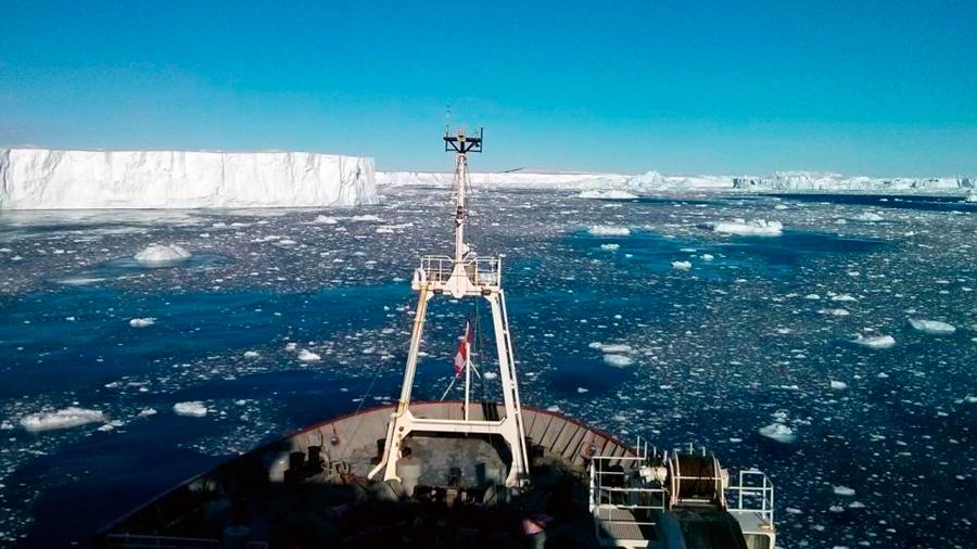 Detectan actividad volcánica bajo el glaciar antártico más grande e inestable