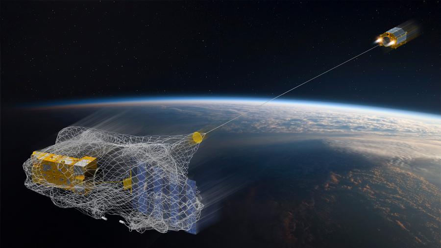Lanza NASA satélite para limpiar la basura del espacio