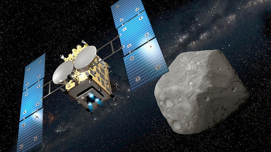 Una misión japonesa alcanza Ryugu, una 'piedra preciosa' cósmica