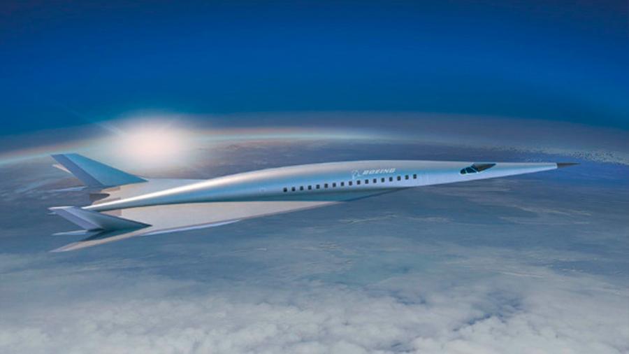 Así es el avión hipersónico de pasajeros que quiere desarrollar Boeing