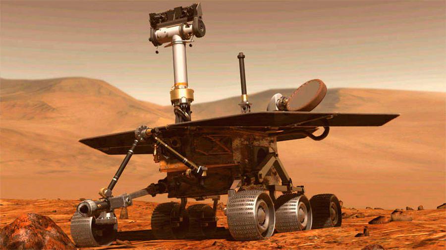 Hace dos semanas que el rover Opportunity no envía señales desde Marte
