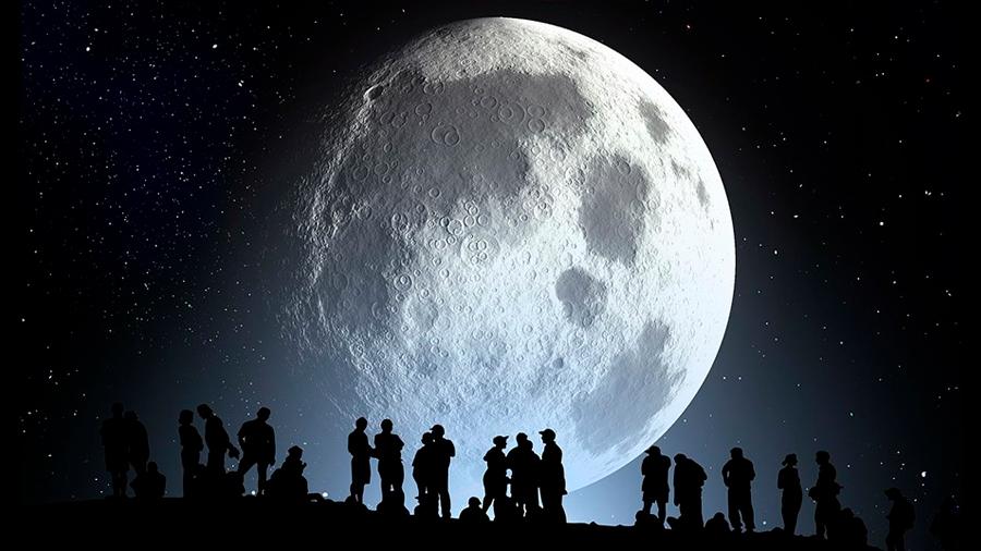 Súper Luna, un eclipse y Marte más cerca: Revisa los eventos astronómicos que se vivirán en julio