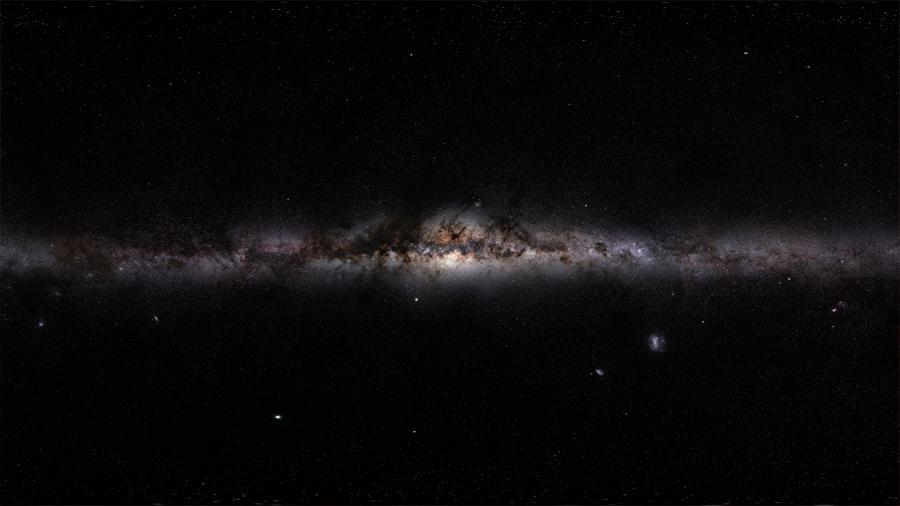 La Vía Láctea es más grande de lo estimado y llega a 62.000 años luz