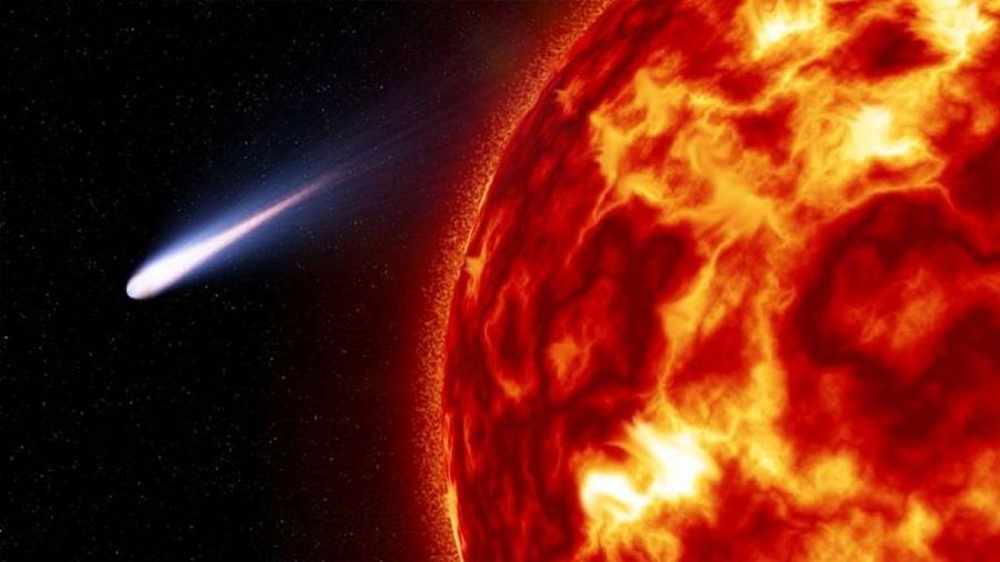 """Un cometa gigantesco, apodado """"El Increíble Hulk"""", se aproxima rápidamente al Sol"""