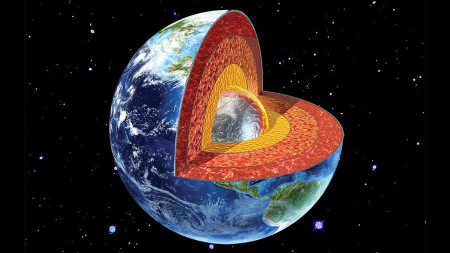 Revelan que hay nitrógeno como metal líquido en el núcleo terrestre