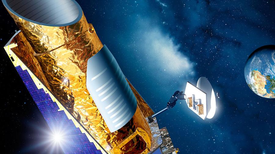 La NASA decide descargar datos de nave Kepler por bajo combustible: lo pone a hibernar