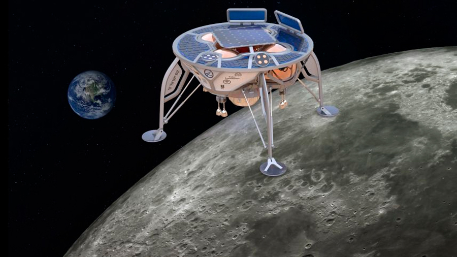 Israel anuncia el aterrizaje de una nave en la Luna para febrero
