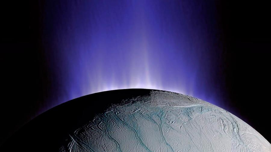 Escucha la Grabación de audio de ondas de plasma de Saturno y Encélado