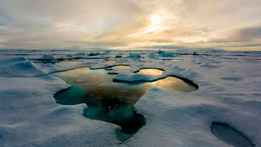 Alertan que el deshielo del Ártico desintegre glaciares al otro lado del globo