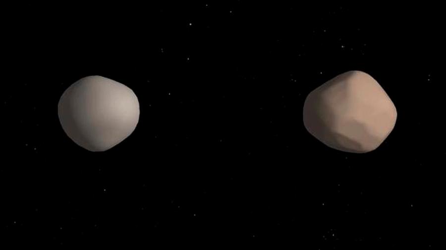 2017 YE5, el asteroide que finalmente es un binario de masas idénticas que órbitas entre sí