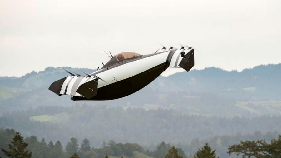 Presentan primer avión ultraligero eléctrico de despegue vertical