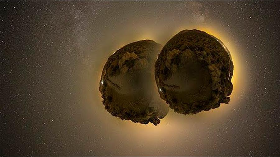 Un asteroide descubierto el año pasado y capaz de acercarse a la Tierra es en realidad una pareja