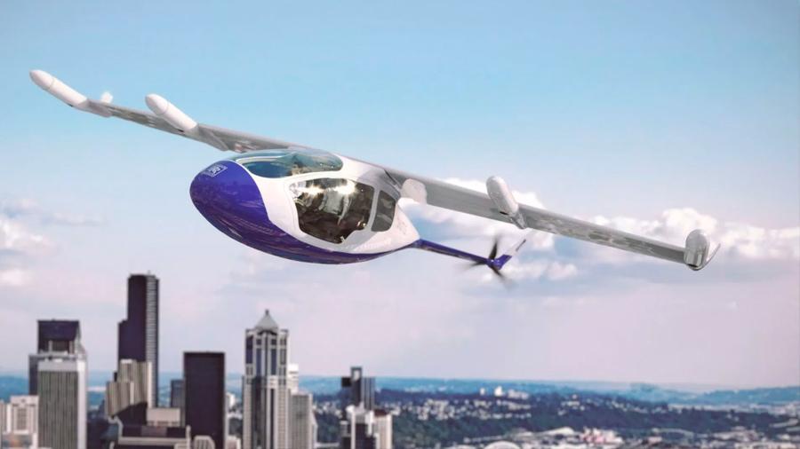 Rolls-Royce presentó su propio modelo de vehículo aéreo autónomo