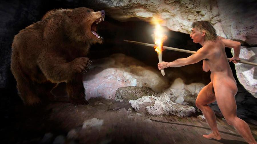 Los neandertales iniciaban el fuego con herramientas de piedra