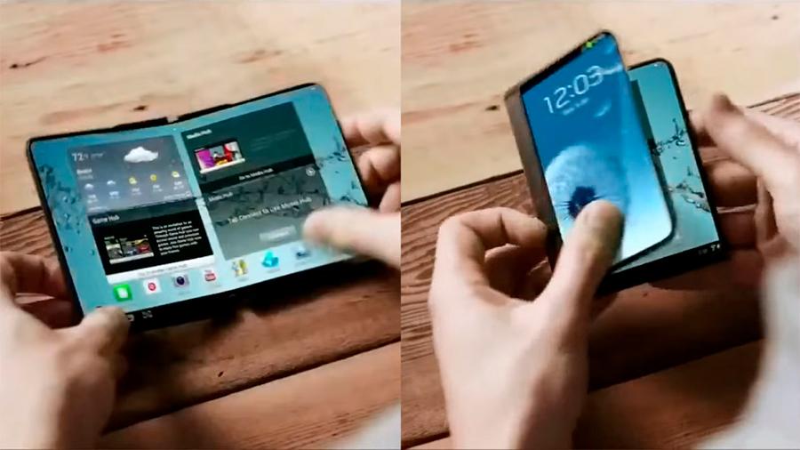 Samsung podría presentar su primer teléfono plegable a principios de 2019