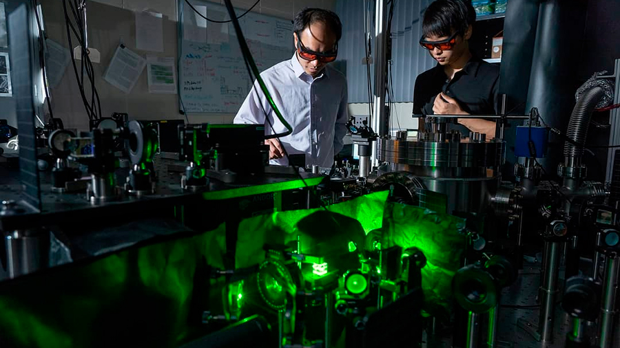 Crean el rotor más rápido del mundo para estudiar la mecánica cuántica