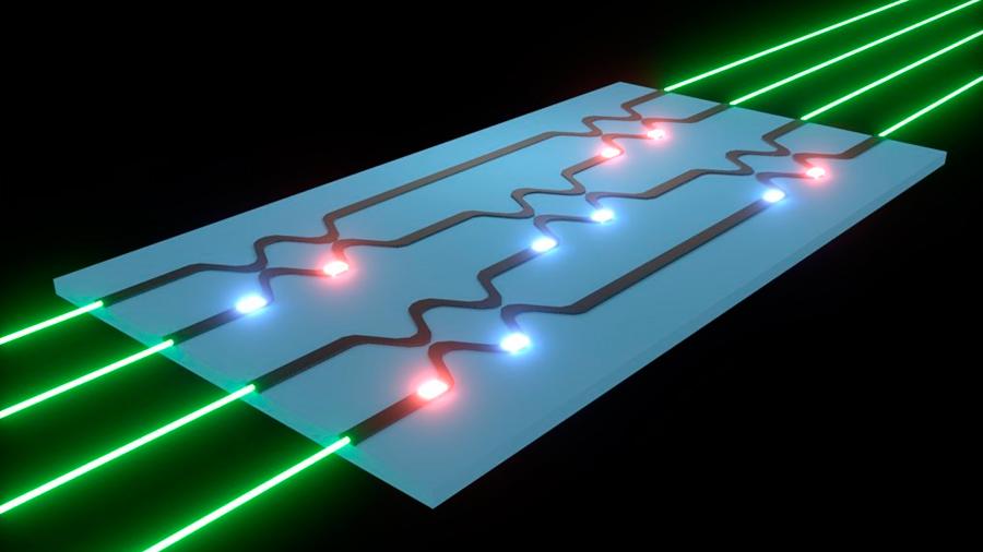 Nuevo avance para lograr una red neural artificial enteramente basada en luz