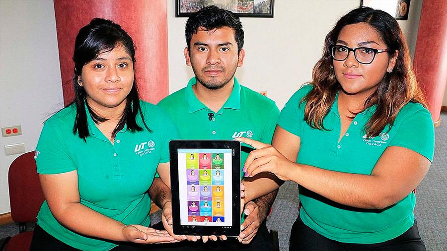 Crearon estudiantes de ingeniería aplicación para preservar 16 lenguas indígenas de Oaxaca