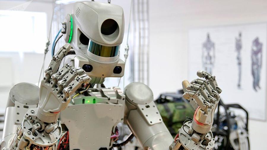El inquietante robot que Rusia podría mandar al espacio el año que viene