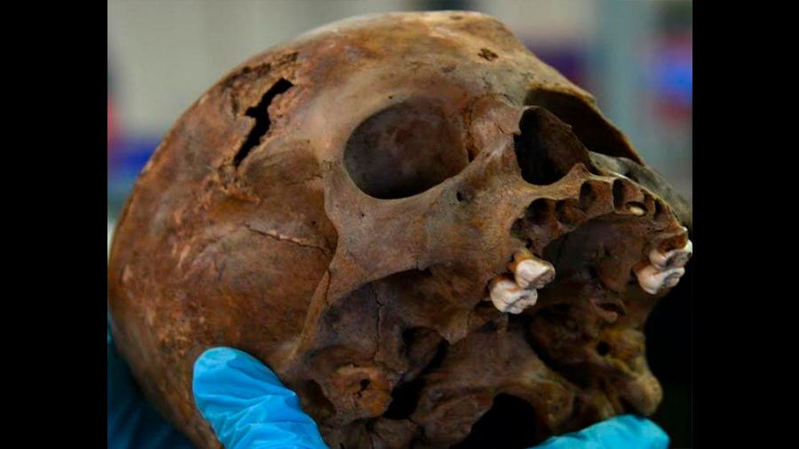 Hallan restos de un sacrificio infantil dedicado a un dios azteca de la guerra
