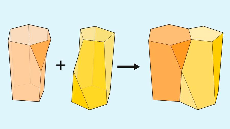 Descubren una nueva forma geométrica en las células de la piel: el escutoide
